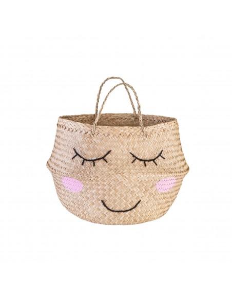 Jūržolių krepšys su veiduku