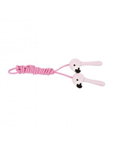 Vaikiška šokdynė - flamingai