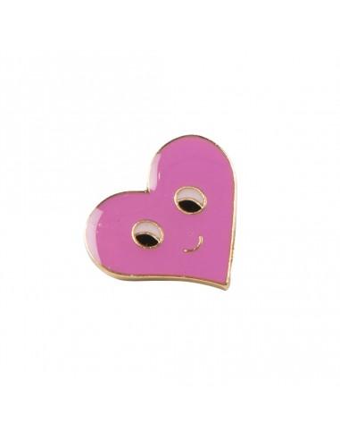 Prisegamas Ženkliukas - Pink Heart