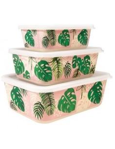 Bambukinių Dėžučių Rinkinys...