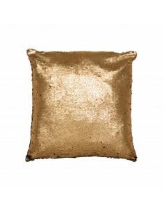 Auksinė pagalvė su žvyneliais