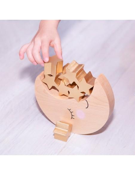 Medinis žaislas vaikams skirtas lavinti smulkiąja motoriką, logiką ir vaizduotę