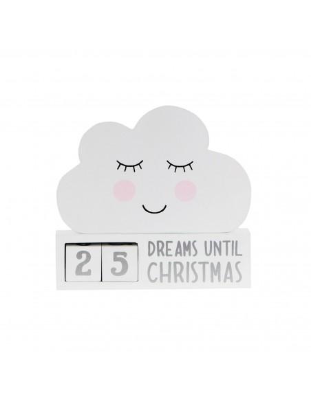 Advento kalendorius debesėlio formos