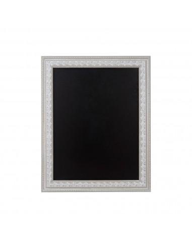 Kreida rašoma juoda lenta su pilku rėmu