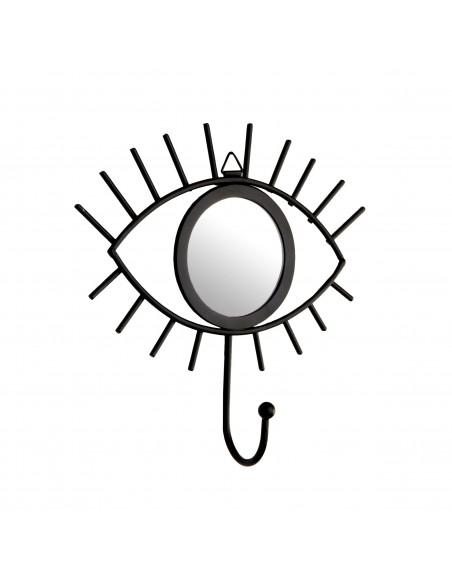 Akies formos sieninis kabliukas su veidrodžiu