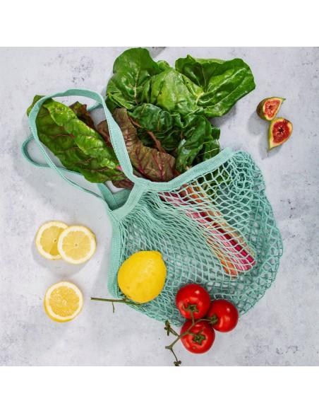 Puikiai tiks daržovėms, vaisiams ir kitiems pirkiniams susidėti