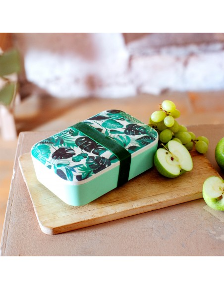 Stilinga dėžutė Jūsų maistui pagaminta iš bambuko pluošto.