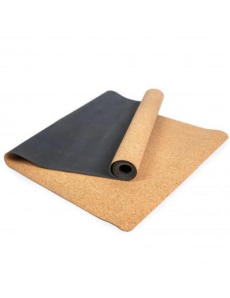 Natūraliu gamtai draugišku medžiagų kilimėlis su guminiu padu