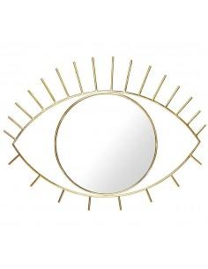 Auksinis pakabinamas veidrodis