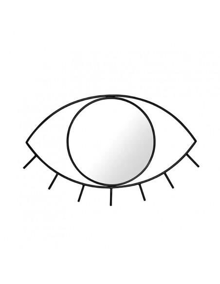 Juodas akies formos veidrodis