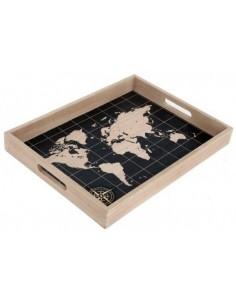 Medinis Padėklas - Žemėlapis