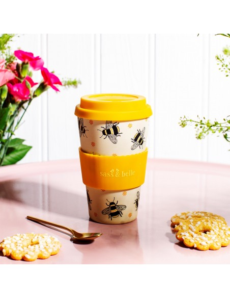 Talpus 435ml puodelis puikiai tiks kavai išsinešti.