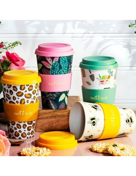 Bambukiniai puodeliai kavai