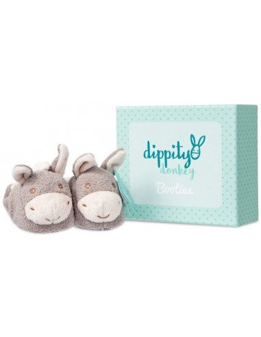 Kūdikių batukai asiliuko formos su dėžute dovanoms