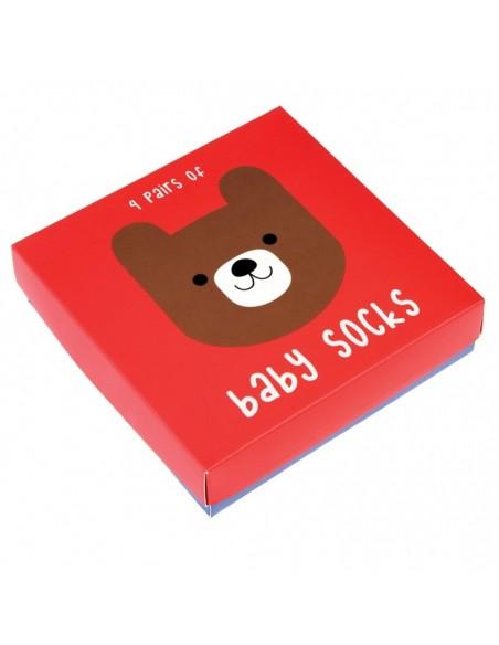Kūdikių kojinių dėžutė tinkanti dovanoms